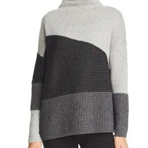 Wool Blend Block Sweater